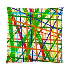 Colorful lines Standard Cushion Case (One Side)