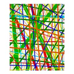 Colorful lines Shower Curtain 60  x 72  (Medium)