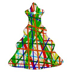 Colorful lines Ornament (Christmas Tree)