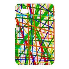 Colorful lines Samsung Galaxy Tab 7  P1000 Hardshell Case