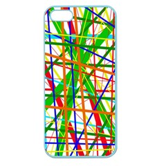Colorful lines Apple Seamless iPhone 5 Case (Color)