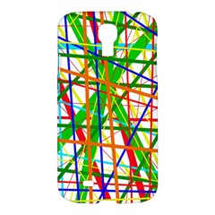 Colorful lines Samsung Galaxy S4 I9500/I9505 Hardshell Case