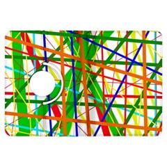 Colorful lines Kindle Fire HDX Flip 360 Case