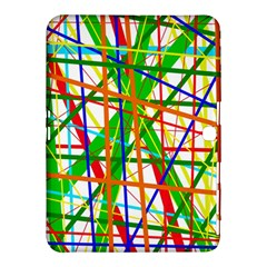 Colorful lines Samsung Galaxy Tab 4 (10.1 ) Hardshell Case