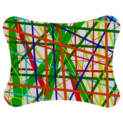 Colorful lines Jigsaw Puzzle Photo Stand (Bow)