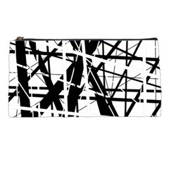 Black and white abstract design Pencil Cases