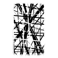 Black and white abstract design Memory Card Reader