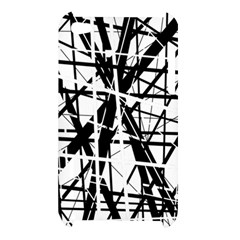 Black and white abstract design Apple iPod Touch 4