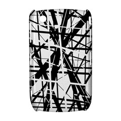 Black and white abstract design Curve 8520 9300
