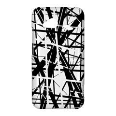 Black and white abstract design HTC Droid Incredible 4G LTE Hardshell Case