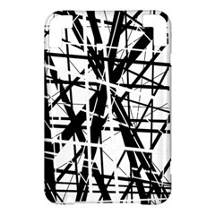 Black and white abstract design Kindle 3 Keyboard 3G