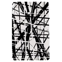 Black and white abstract design Kindle Fire (1st Gen) Hardshell Case