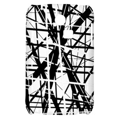 Black and white abstract design Samsung S3350 Hardshell Case