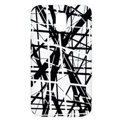 Black and white abstract design Samsung Galaxy S II Skyrocket Hardshell Case