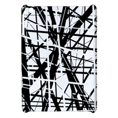 Black and white abstract design Apple iPad Mini Hardshell Case