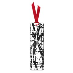 Black and white abstract design Small Book Marks