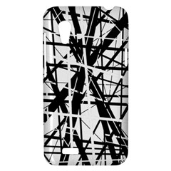 Black and white abstract design HTC Desire VT (T328T) Hardshell Case