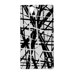 Black and white abstract design Sony Xperia Z