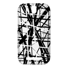 Black and white abstract design HTC One SV Hardshell Case