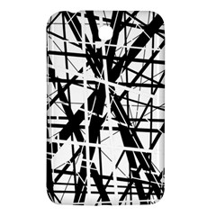 Black and white abstract design Samsung Galaxy Tab 3 (7 ) P3200 Hardshell Case