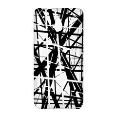Black and white abstract design HTC One Mini (601e) M4 Hardshell Case
