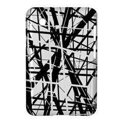 Black and white abstract design Samsung Galaxy Tab 2 (7 ) P3100 Hardshell Case