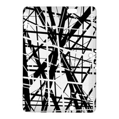 Black and white abstract design Kindle Fire HDX 8.9  Hardshell Case