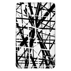 Black and white abstract design Samsung Galaxy Tab Pro 8.4 Hardshell Case