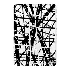 Black and white abstract design Samsung Galaxy Tab Pro 12.2 Hardshell Case