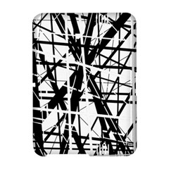 Black and white abstract design Amazon Kindle Fire (2012) Hardshell Case