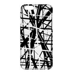 Black and white abstract design Apple iPhone 6 Plus/6S Plus Hardshell Case