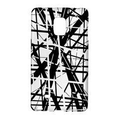 Black and white abstract design Galaxy Note Edge