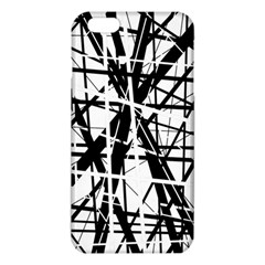 Black and white abstract design iPhone 6 Plus/6S Plus TPU Case