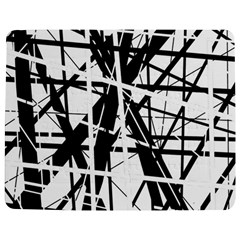 Black and white abstract design Jigsaw Puzzle Photo Stand (Rectangular)