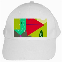 Abstract bird White Cap