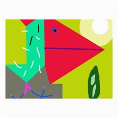 Abstract bird Collage Prints