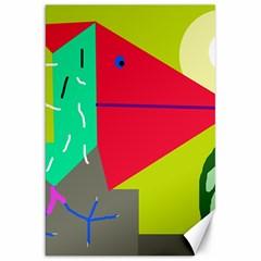 Abstract bird Canvas 20  x 30
