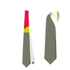 Abstract bird Neckties (Two Side)