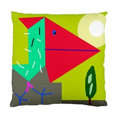 Abstract bird Standard Cushion Case (Two Sides)