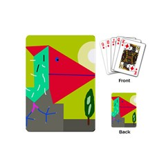 Abstract bird Playing Cards (Mini)