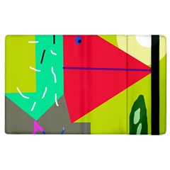 Abstract bird Apple iPad 3/4 Flip Case