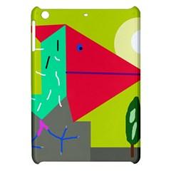 Abstract bird Apple iPad Mini Hardshell Case