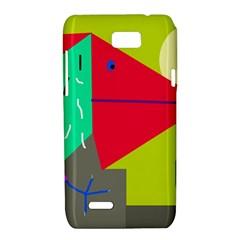 Abstract bird Motorola XT788