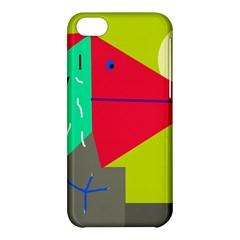 Abstract bird Apple iPhone 5C Hardshell Case