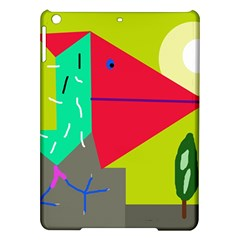 Abstract bird iPad Air Hardshell Cases