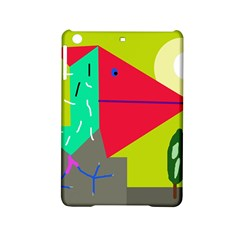 Abstract bird iPad Mini 2 Hardshell Cases