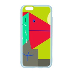 Abstract bird Apple Seamless iPhone 6/6S Case (Color)