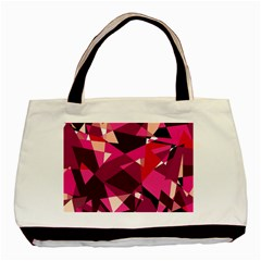 Red broken glass Basic Tote Bag (Two Sides)
