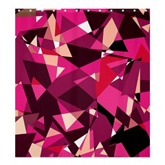 Red broken glass Shower Curtain 66  x 72  (Large)