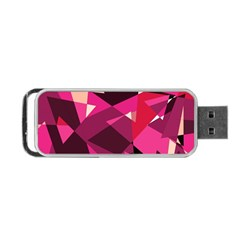 Red broken glass Portable USB Flash (One Side)